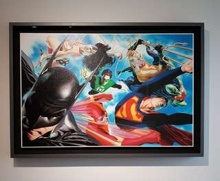 Alex Ross Liberty and Justice canvas giclee