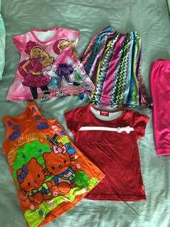 3yo girls set - Baju Kanak-kanak