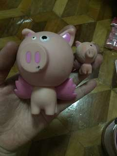 BRATZ cloe's pet pig figure