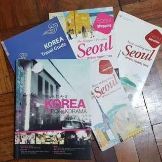 Travel to Korea in Kdrama/Kpop Style Book (with freebies!!)