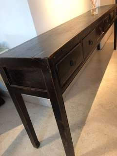 Nice antique console