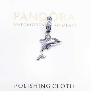 Pandora charm - dolphin