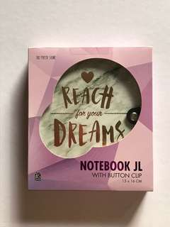 The Paper Stone Notebook JL - Reach for your Dreams
