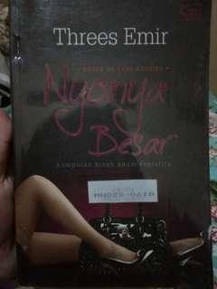 novel,metropop second,murah