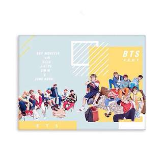 Kpop Photocard / Name / Lomo Card Album Holder (Jungkook / BTS / Twice)