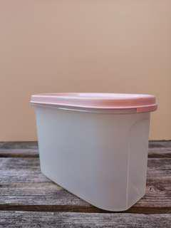 Pink Tupperware Container