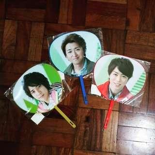 Arashi Mini Uchiwa/Fan