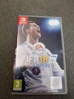 Nintendo Switch game FIFA 18