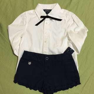 Ralph Lauren Long Sleeves & Shorts