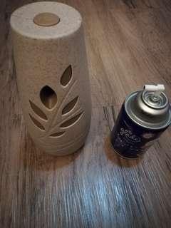 Glade Automatic Air Freshener + refill velvet tea party 85%