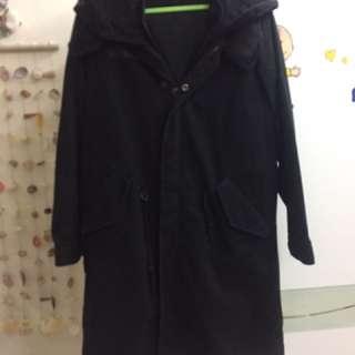 2%長版大衣外套