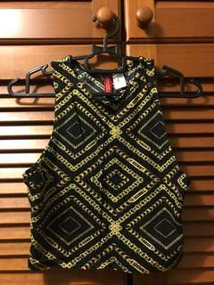 H&M Aztec Top