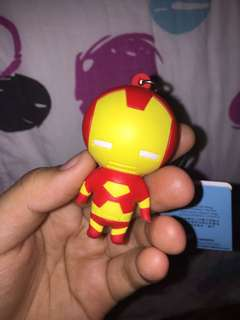 Authentic iron man keychain from hk disneyland