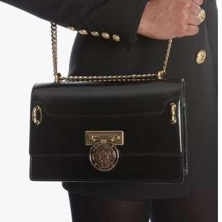 Original Balmain Box 25 Bag in Black