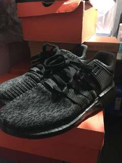 Adidas eqt support triple black jual rugi