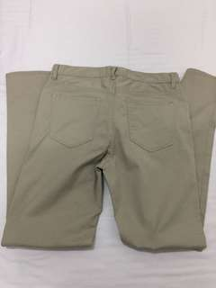 H&M Slim Fit Khaki Pants waistline 31