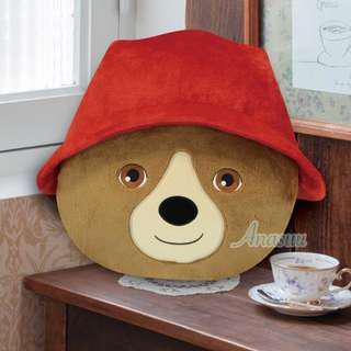 🌟全新日本正版景品 柏靈頓 柏靈頓熊 Paddington Paddingtonbear 柏靈頓熊仔 柏靈頓2 柏靈頓大公仔 柏靈頓咕𠱸 Cushion (全一種)