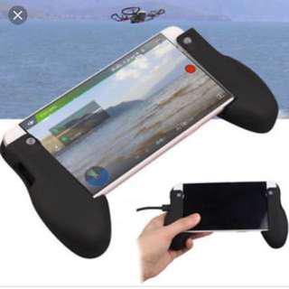 Gamer holder / hand grip for handphone