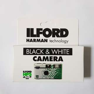 🚚 ILFORD Disposable Black and White Camera