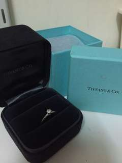 100% Authentic Tiffany Classic Diamond Ring (21 carat)