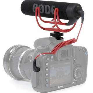 Rode VideoMic GO Lightweight On Camera Microphone DSLR