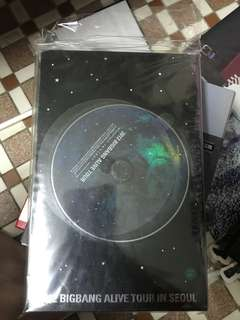 99%new BIGBANG ALIVE TOUR in Seoul 2012
