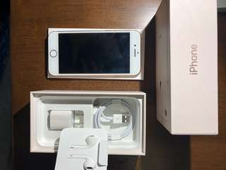 Iphone 8 gold (256gb) with box and accessories used for 2 months