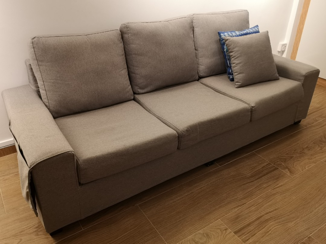 3 Seater Sofa for Sales - Fabric, Furniture, Sofas on Carousell