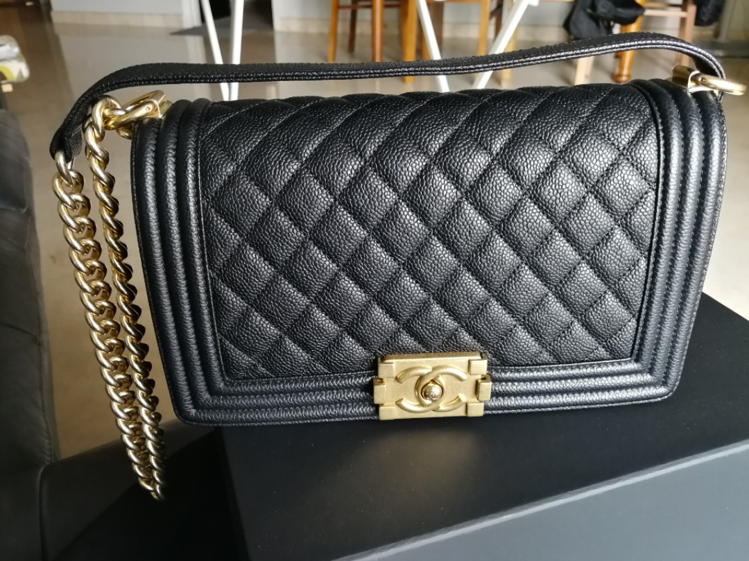 deedf3407df6 Reduced $ to clear! - $5000 last price!) 💯% Chanel Leboy New Medium ...