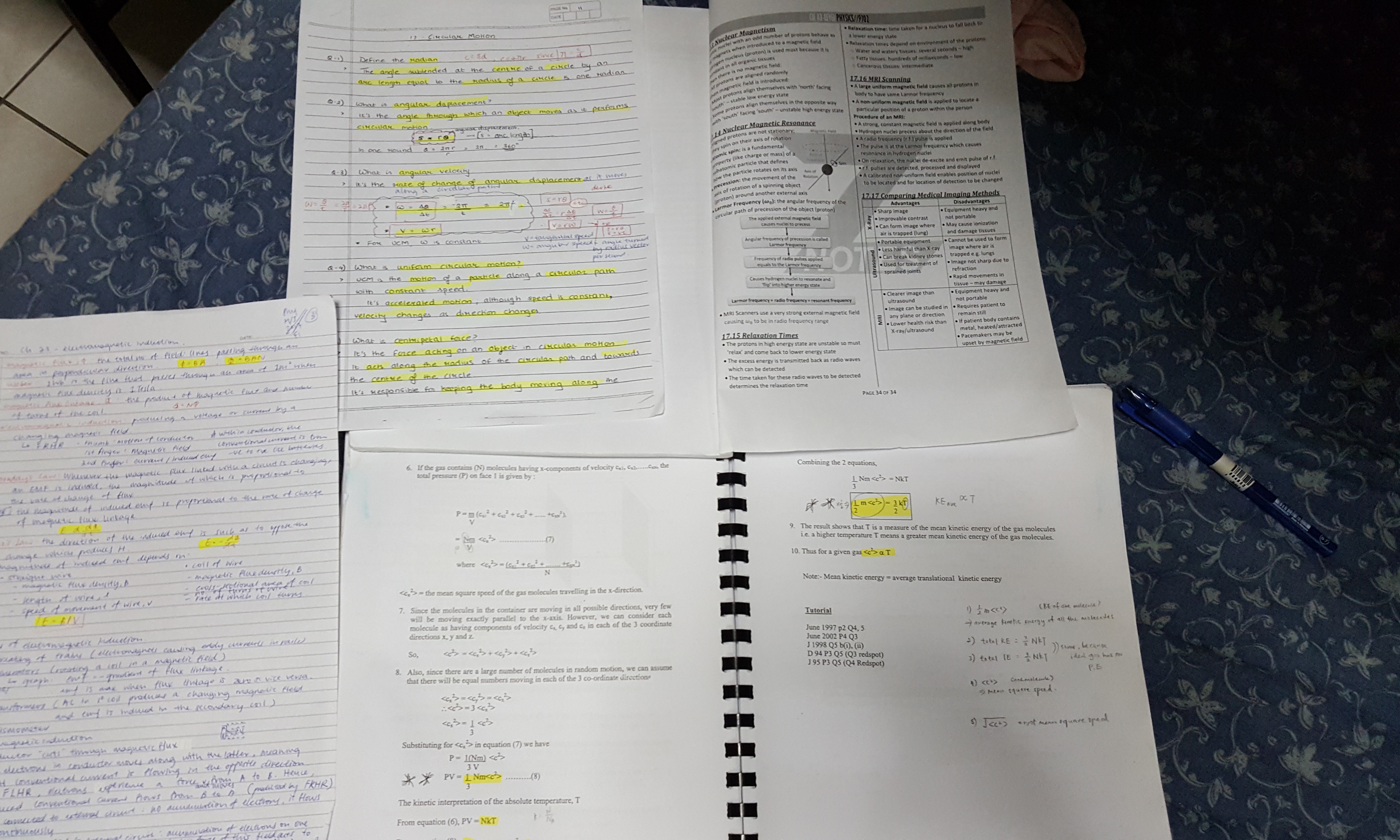 A level physics A2 complete notes