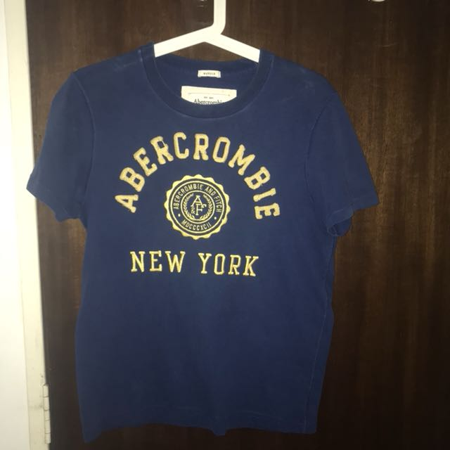 bf3343f9a Abercrombie & Fitch Tee, Men's Fashion, Clothes, Tops on Carousell