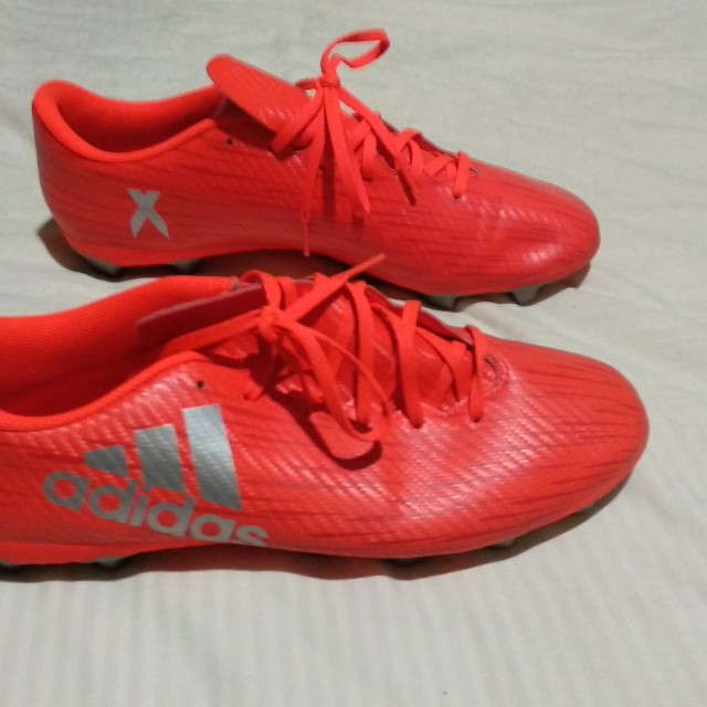 Adidas 164X Football Boots UK 12 Preloved Fesyen Pria Sepatu Di Carousell