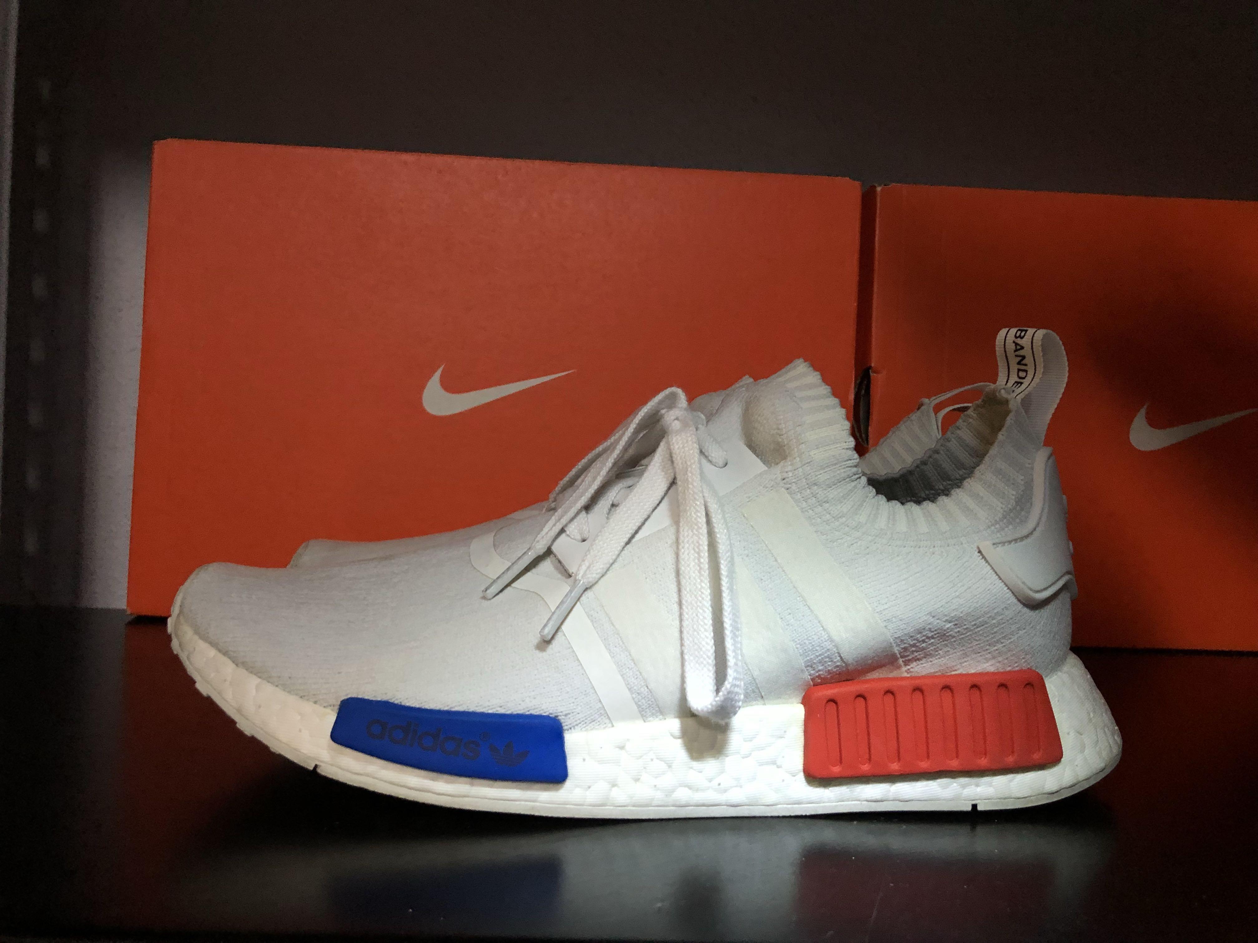 detailed look 41ef9 44f65 Adidas NMD R1 PK OG VINTAGE WHITE, Mens Fashion, Footwear on