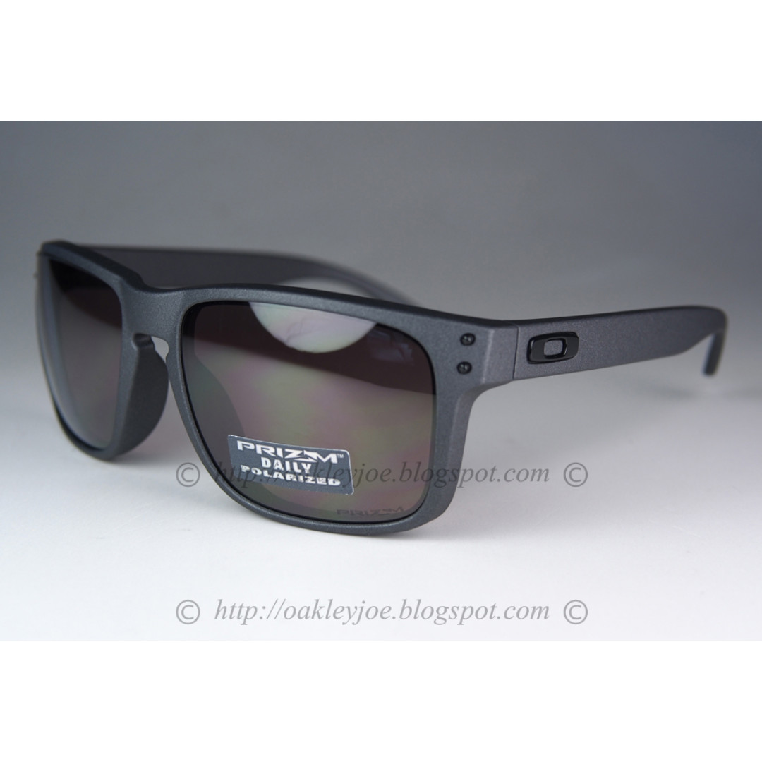 c8350dd3c3 ... promo code for binb oakley holbrook asian fit steel prizm daily  polarized oo9244 18 sunglass shades
