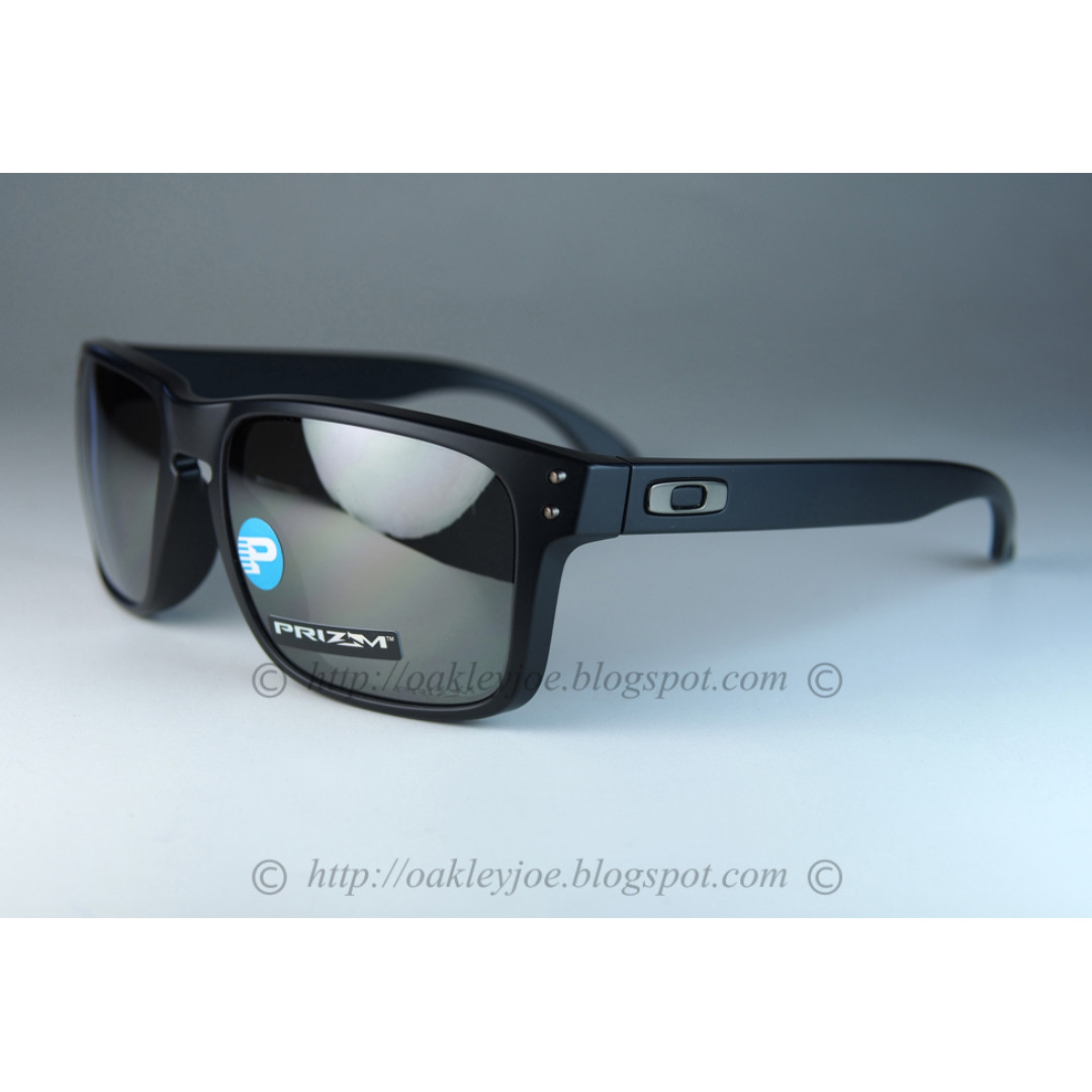 b2d470e206c BNIB Oakley Holbrook Asian Fit matte black + prizm black iridium ...