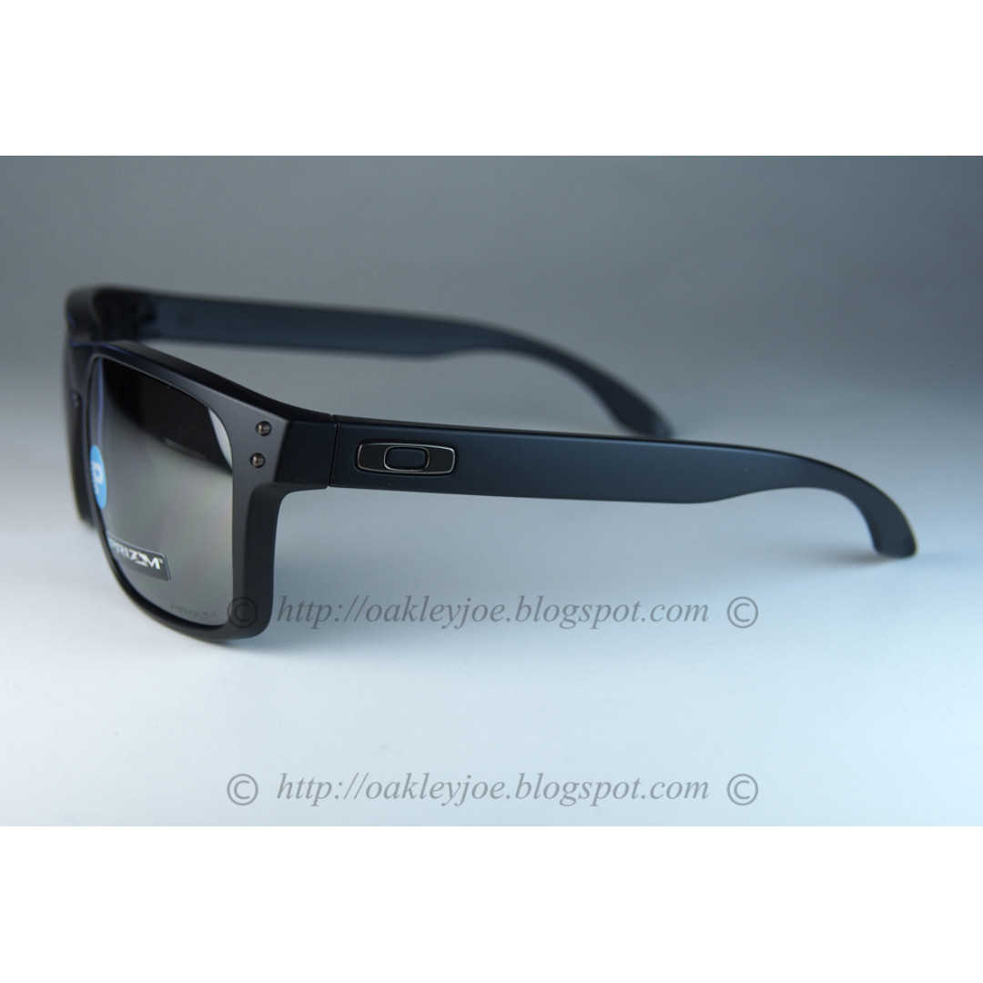 293380f2342 BNIB Oakley Holbrook Asian Fit matte black + prizm black iridium polarized  oo9244-2556 sunglass shades