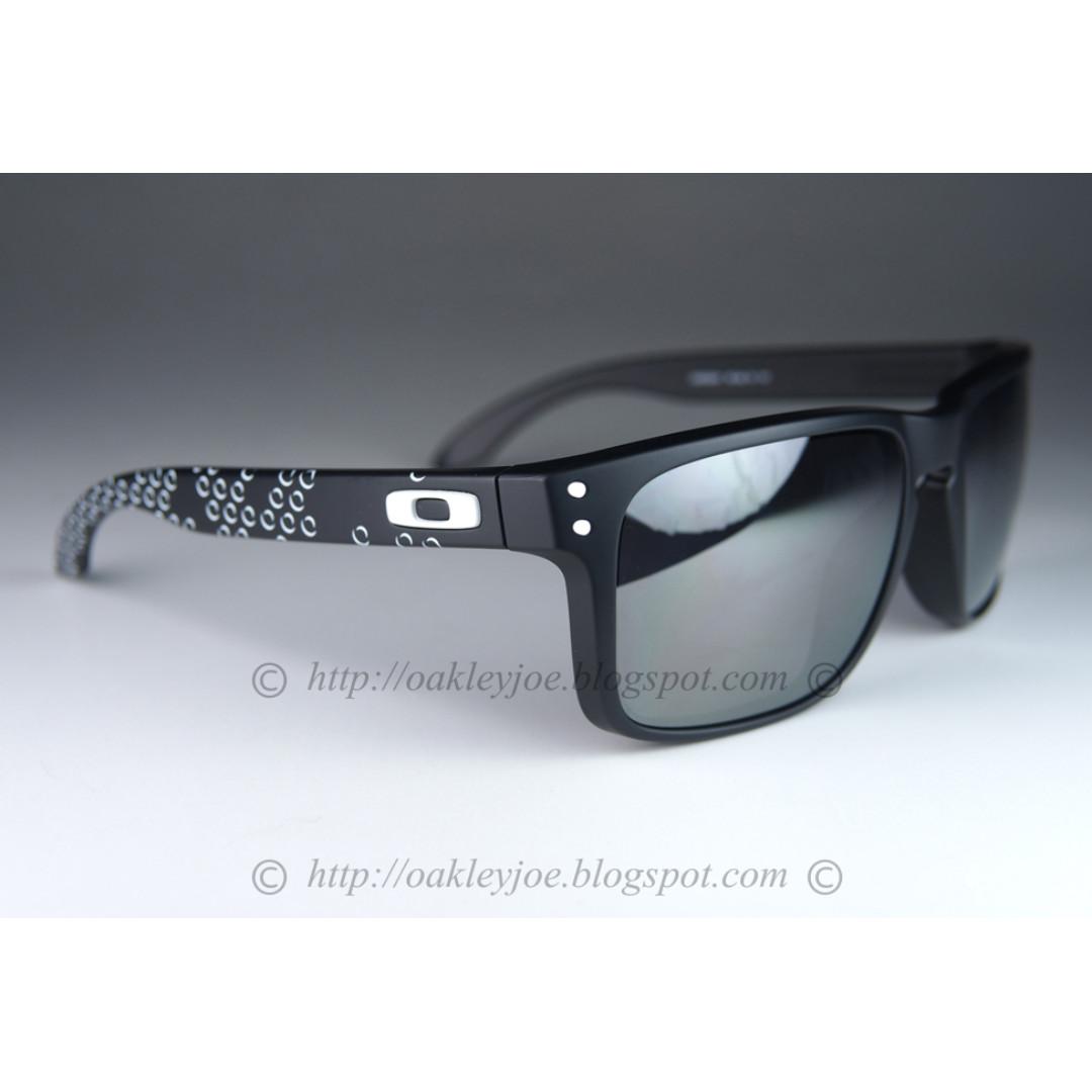 0120da7f6a BNIB Oakley Holbrook B1B matte black + black iridium oo9102-81 sunglass  shades