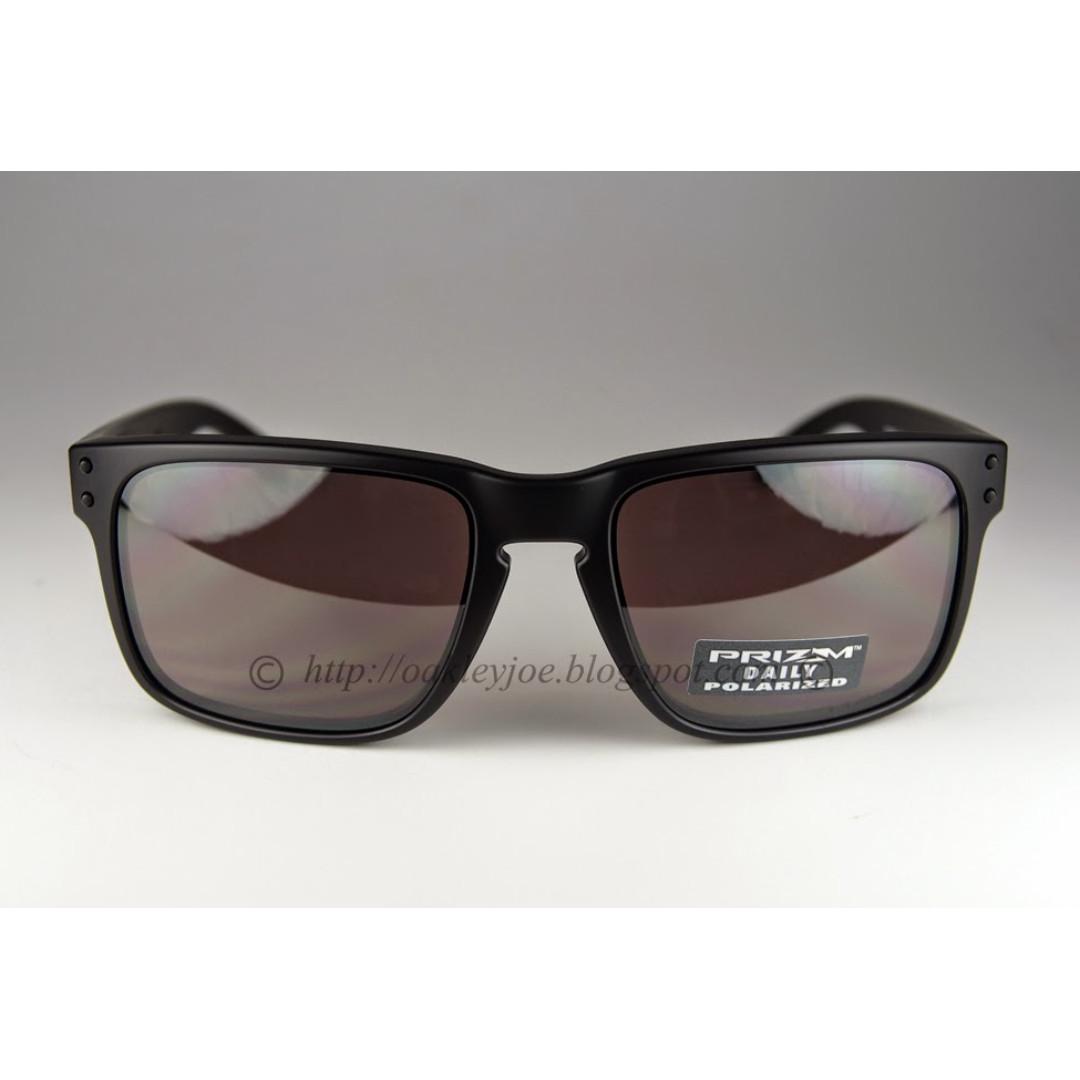 f715238f1c9 BNIB Oakley Holbrook Convert matte black + prizm daily polarized oo9102-09 sunglass  shades