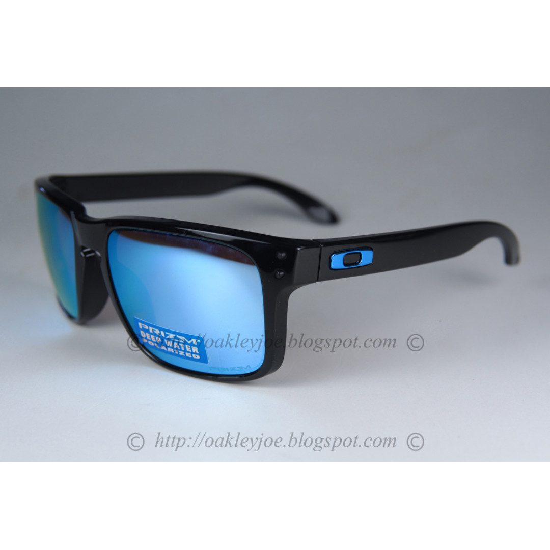 950b43b60c BNIB Oakley Holbrook Prizm Series polished black + prizm deep h2o ...