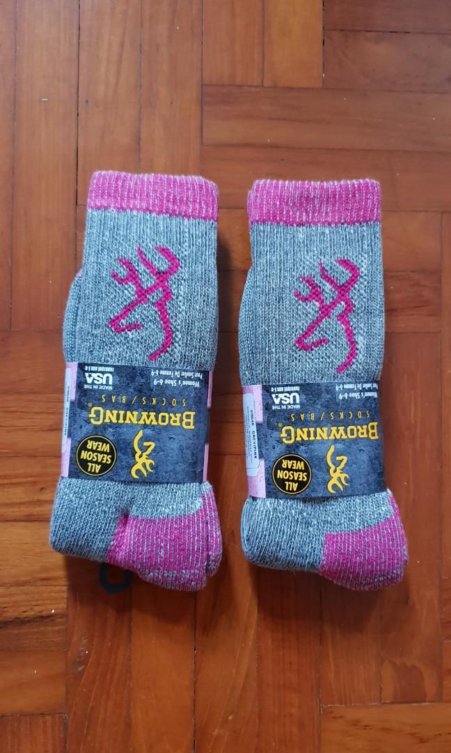 Browning merino wool socks (made in USA) ae836f83f4e6