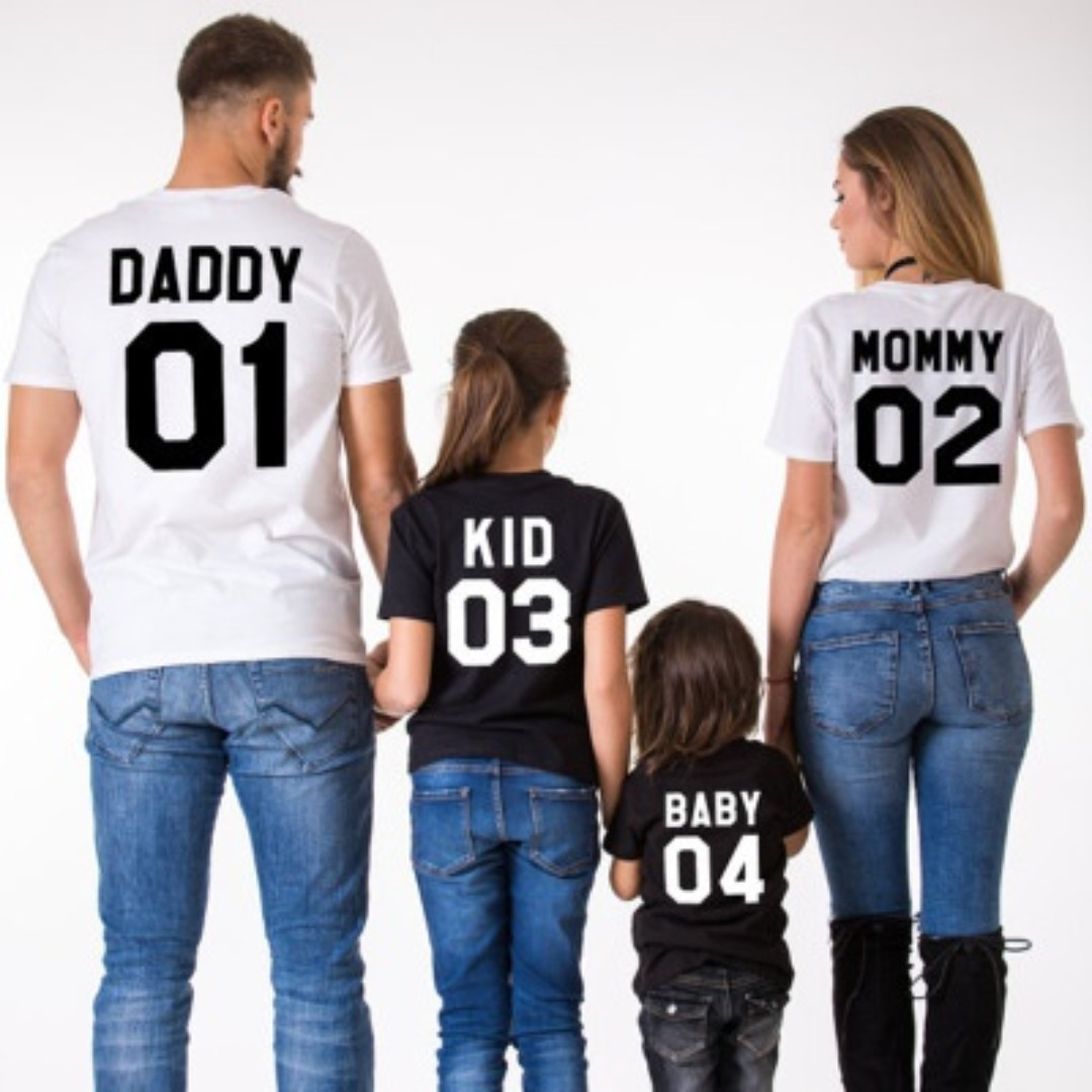1d596b8c Father Baby Daughter T Shirts