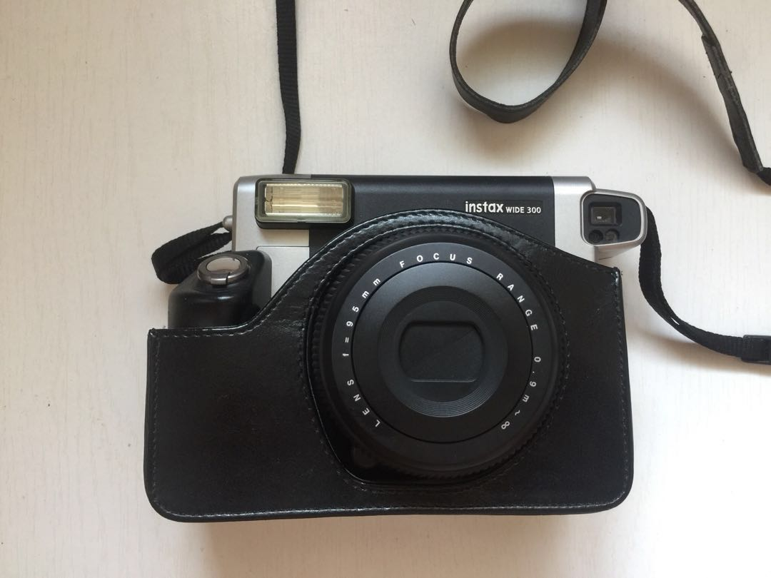 Fujifilm Instax Wide 300 Photography On Carousell Instant Film Camera