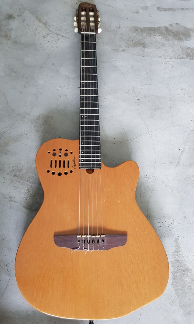 Godin ACS Cedar Natural Nylon String