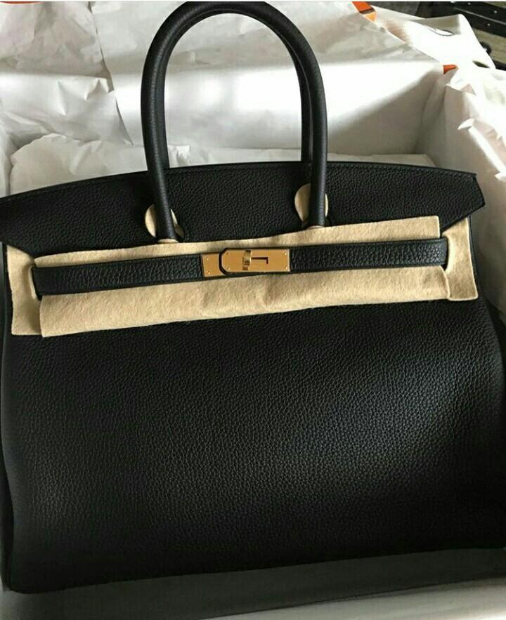 c93683e0ea Hermes Birkin 35 In Black