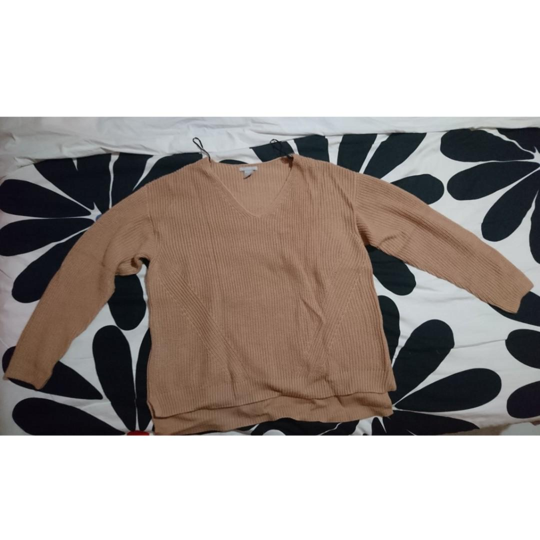 H&M oversized knitted jumper