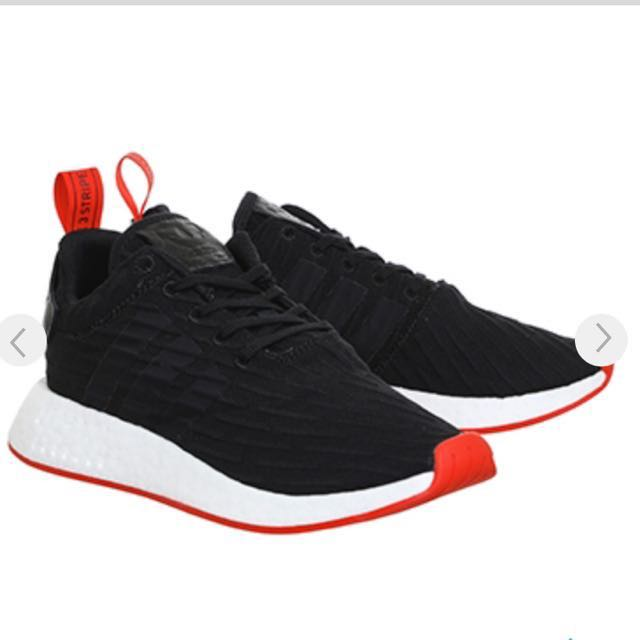 best cheap 633ae deaf7 (INSTOCK) Adidas NMD R2 BLACK RED
