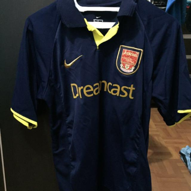 the latest 9eaa2 6a9b3 Jersey Arsenal Sega (lokal), Antiques, Collectibles on Carousell