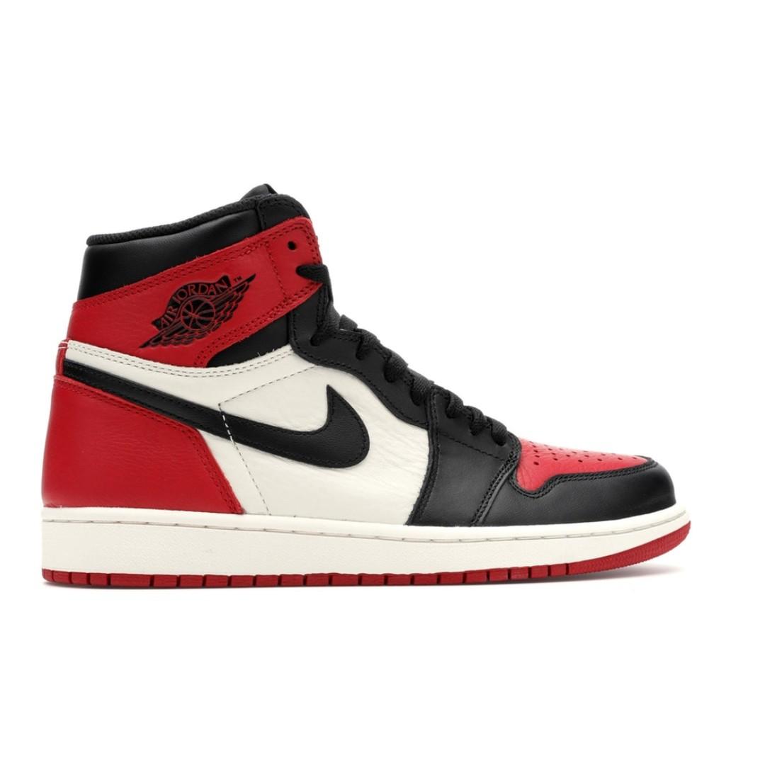 594ca98a04e7 Jordan 1 Retro High Bred Toe