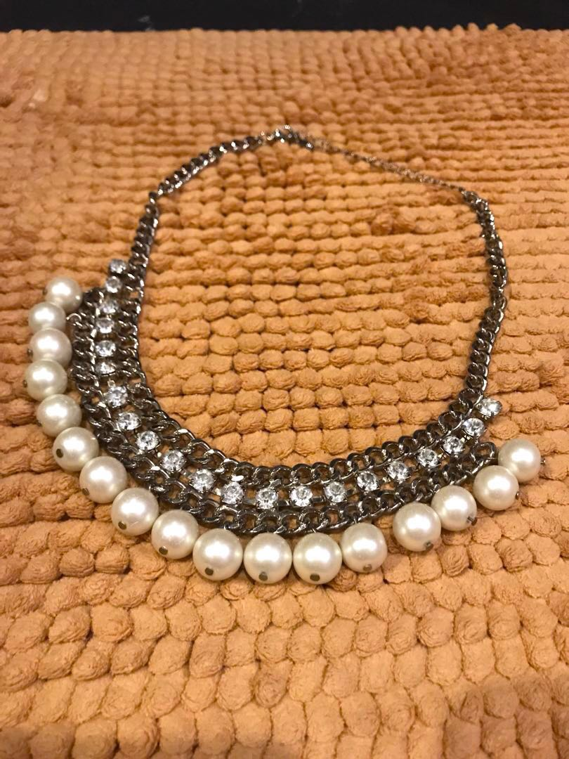 Kalung Mutiara Fesyen Wanita Perhiasan Di Carousell Lihat Pearl Wgp 086 Asli Putih