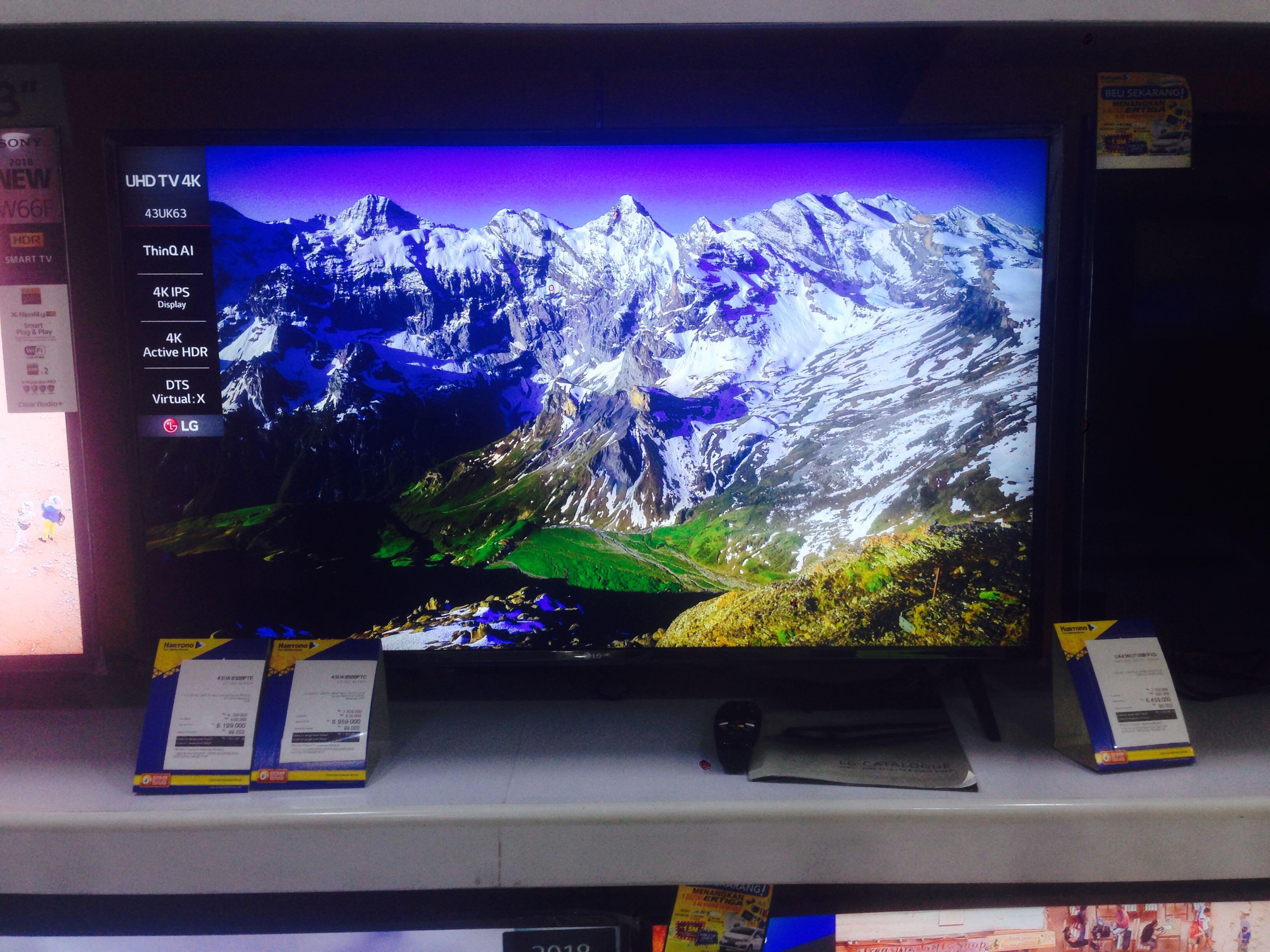 Lg Led Tv 43 Promo Cicilan 0 Elektronik Perlengkapan Voucher Giant Rp 800000 Photo